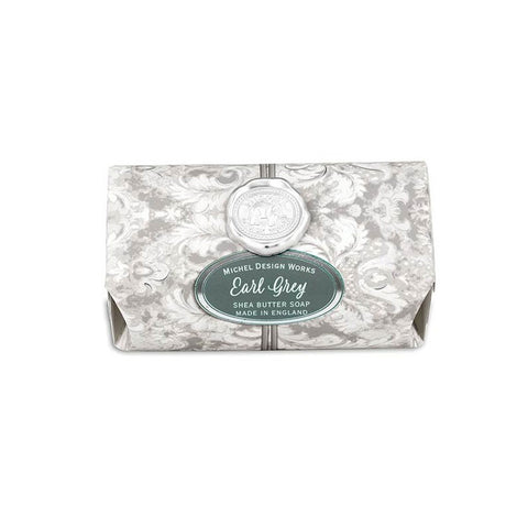 "Large Bath Soap Bar ""Earl Grey""