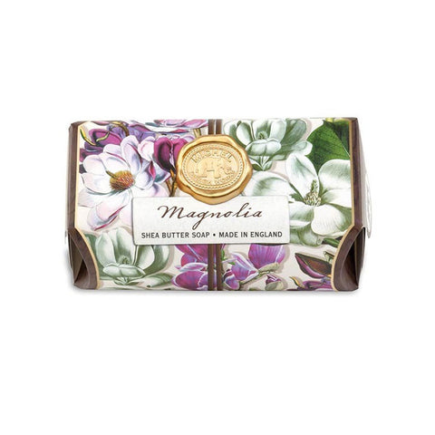 "Large Bath Soap Bar ""Magnolia""