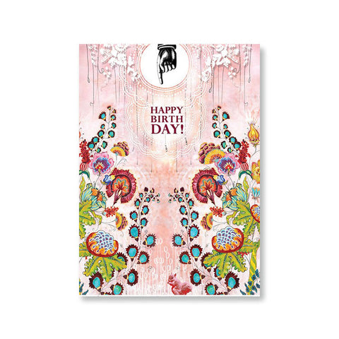 "Greeting Card ""Birthday Bouquet""