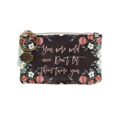 "Coin Purse ""Black Thistle""