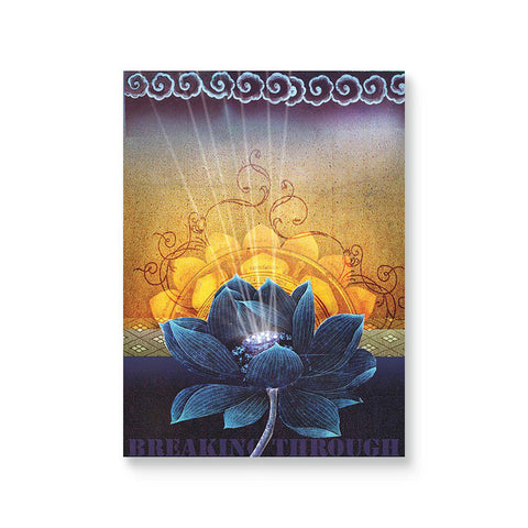 "Greeting Card ""Breaking Through""