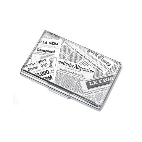 "Business Card Case ""What's New?""