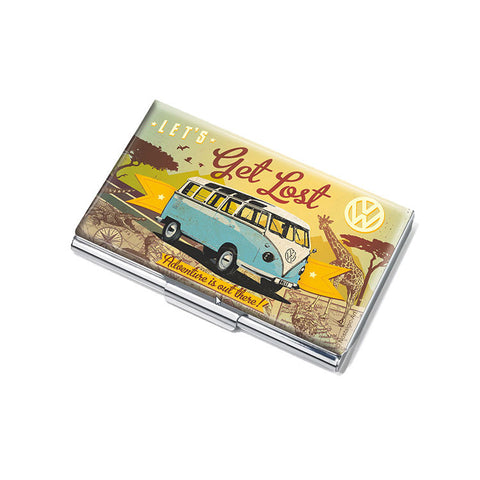 "Business Card Case ""Let's Get Lost""