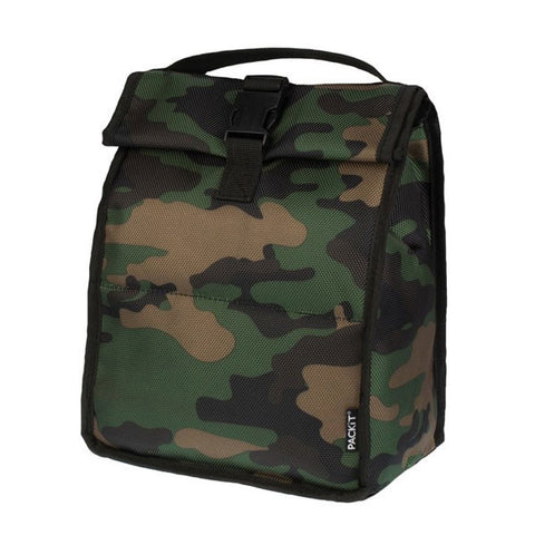 "Freezable Rolltop Lunch Bag ""Camo""