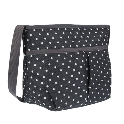 "Freezable Carryall Lunch Bag ""Polka Dots""