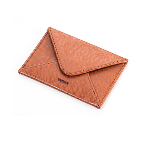 Business Card Case Colori Caramel|Etui pour Cartes de Visite Coloris Caramel