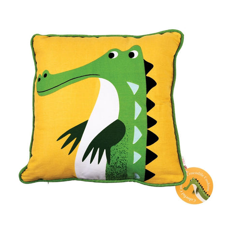 "Cushion Crocodile|Coussin ""Crocodile"""