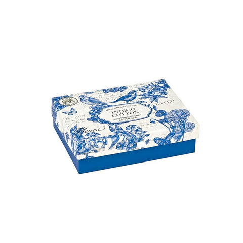 "Gift Set Double Soaps ""Indigo Cotton""