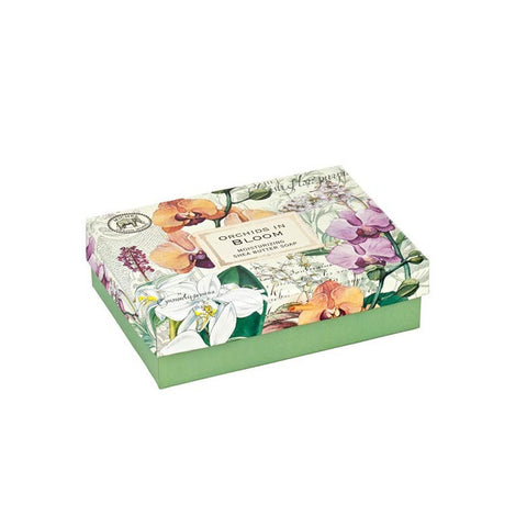 "Gift Set Double Soaps ""Orchids in Bloom""