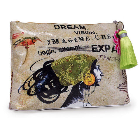"Large Accessory Pouch ""Dream""