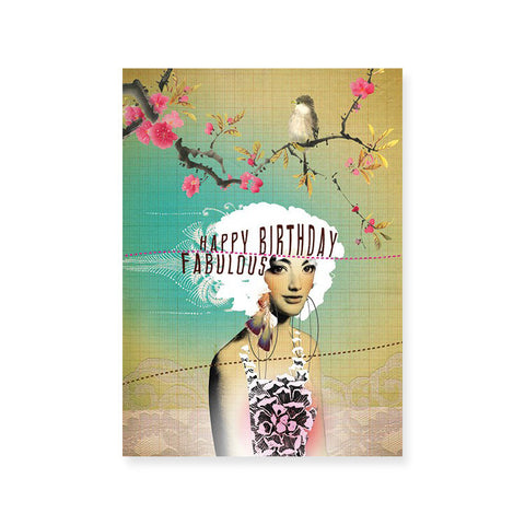 "Greeting Card ""Fabulous Birthday""