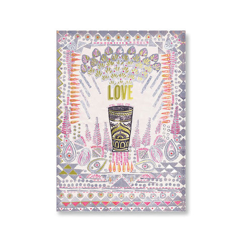"Greeting Card ""Fill Your Cup""