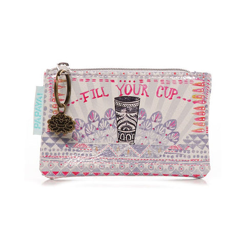 "Coin Purse ""Fill your Cup""
