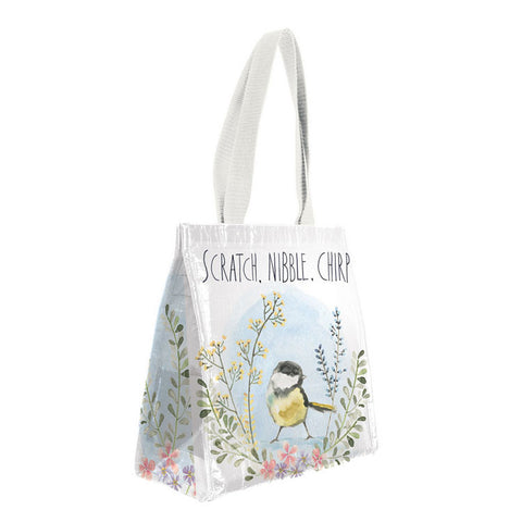 "Insulated Lunch Bag ""Garden Bird""