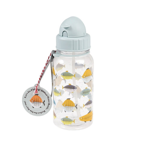 "Water Bottle ""Let's Go Fishing"" Kids
