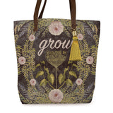 "Bucket Tote ""Grow""