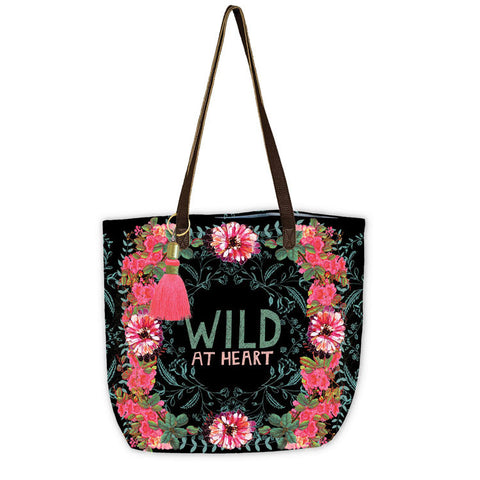 "Bucket Tote ""Gypsy Rose""