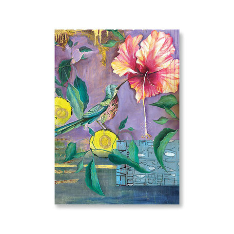 "Greeting Card ""Hummingbird""