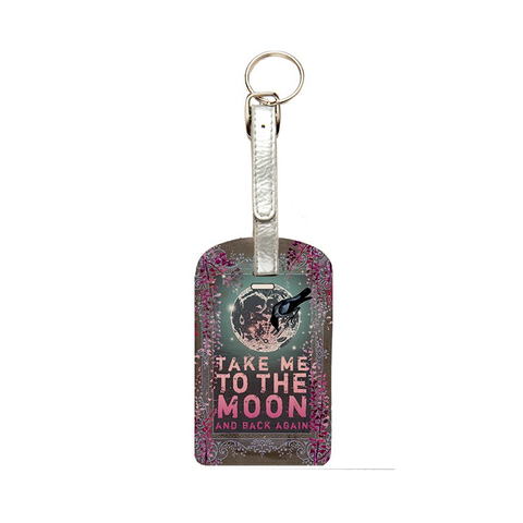 "Luggage Tag ""Moon & Back""