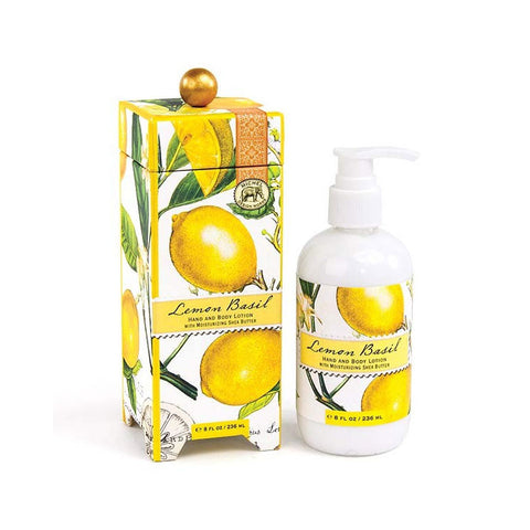 "Hand & Body Lotion ""Lemon Basil""