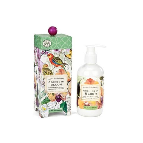 "Hand & Body Lotion ""Orchids in Bloom""