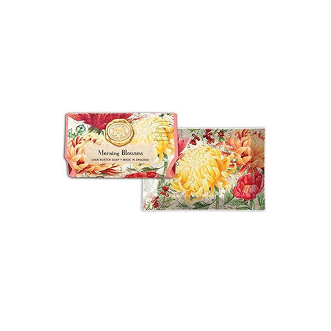 "Glass Soap Dish ""Morning Blossom""