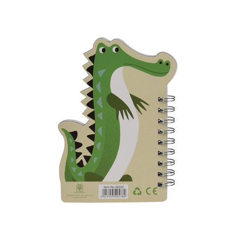 "Crocodile Spiral Notebook |Cahiers  à Spirales ""Crocodile"""