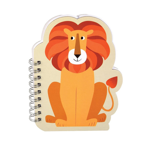"Lion Spiral Notebook |Cahiers  à Spirales ""Lion"""