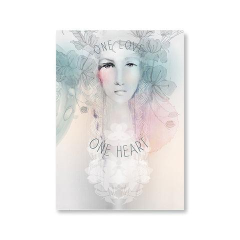"Greeting Card ""One Love""