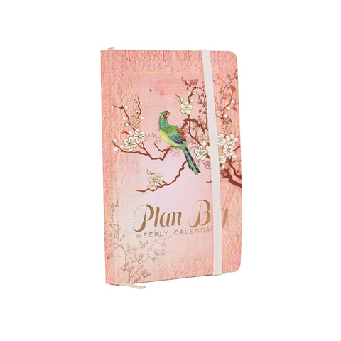 "Pocket Planner ""Asian Petals""