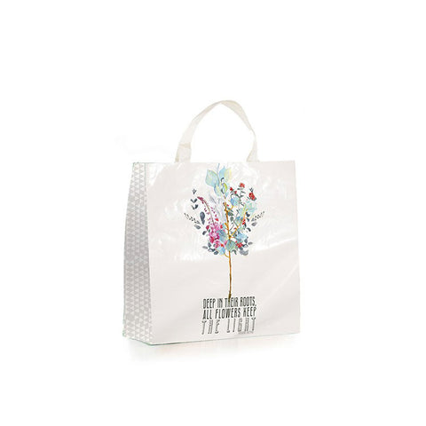 "Market Shopper ""Painted Flowers""