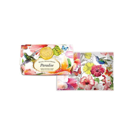 "Large Bath Soap Bar ""Paradise""