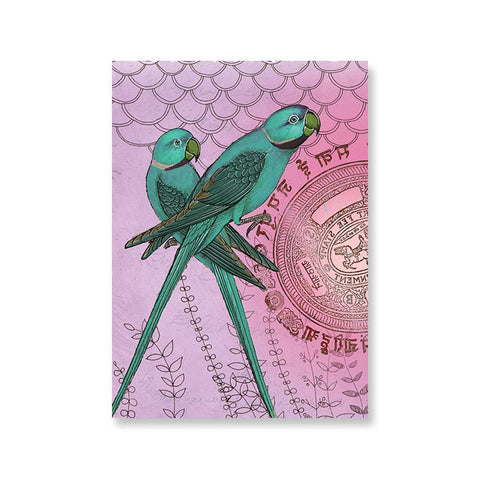 "Greeting Card ""Parrots""