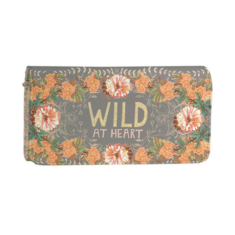 "Wallet ""Gypsy Peachy Wild""