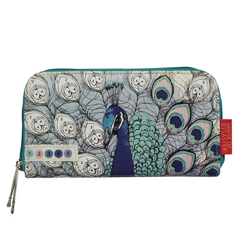 "Wallet ""Peacock'