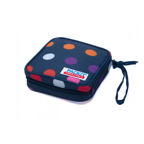 "Freezable Sandwich Box ""Dots""