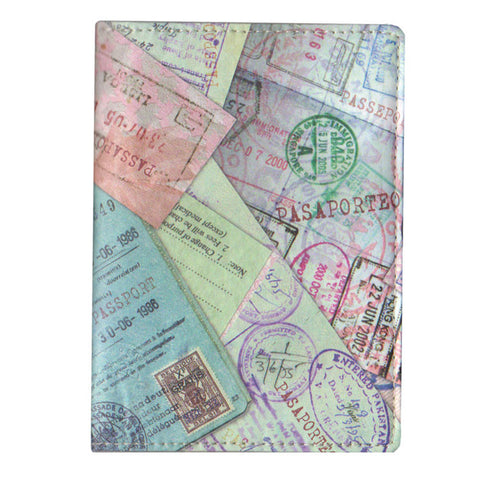 "Passport Cover ""Stamps""