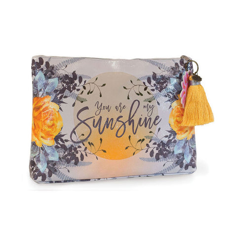 "Large Accessory Pouch ""Sunshine""