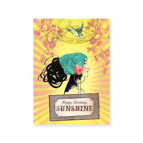 "Greeting Card ""Sunshine Birthday""