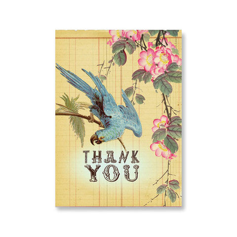 "Greeting Card ""Thank You Bluebird""