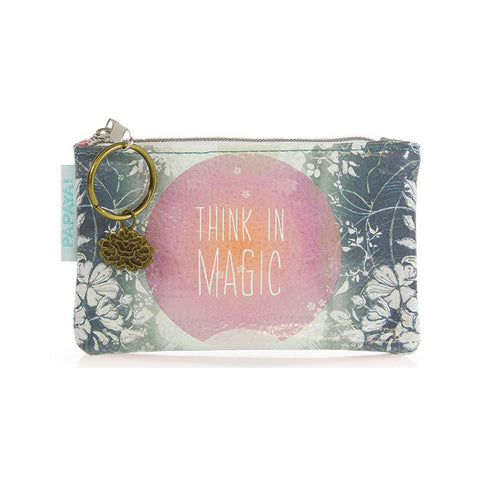 "Coin Purse ""Think in Magic""