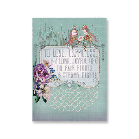 "Greeting Card ""Wedding Wish""