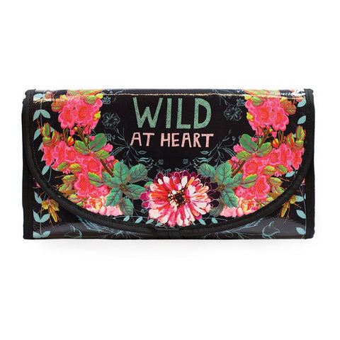 "Travel Organizer ""Wild at Wild at Heart""