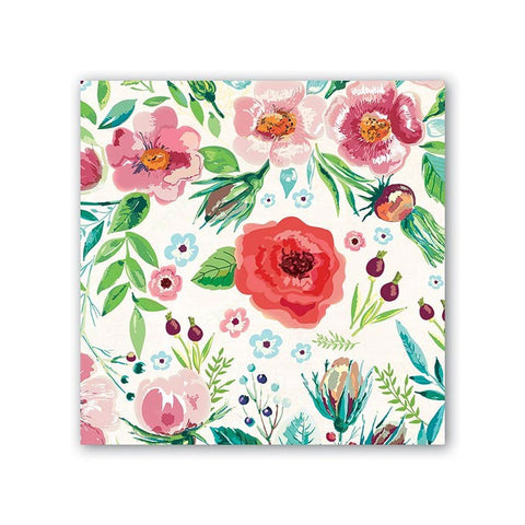 "Wild Berry Blossom Luncheon Napkins|Serviettes de table ""Wild Berries"""