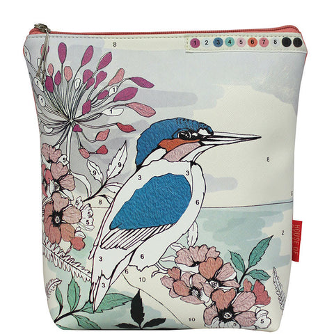 "Wash Bag ""Colour Me Bird""