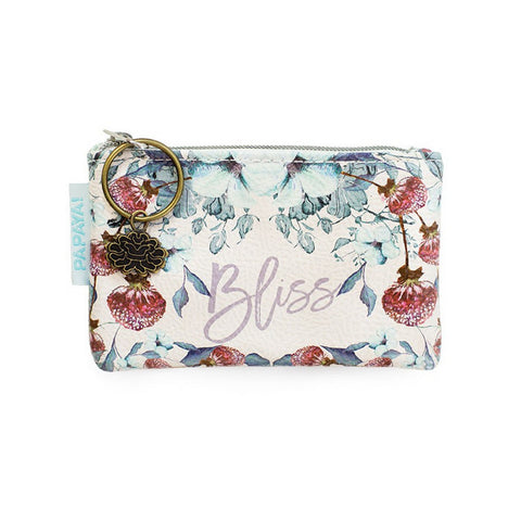 "Coin Purse ""Bliss Pastel Thistle""