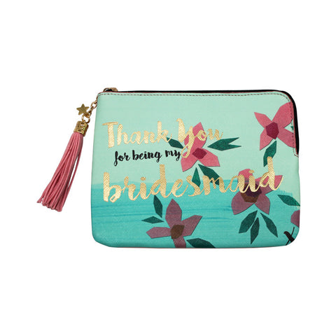 "Zip Pouch ""Bridesmaid""