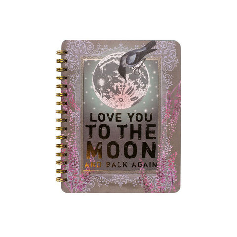 "Notebook ""Moon & Back""