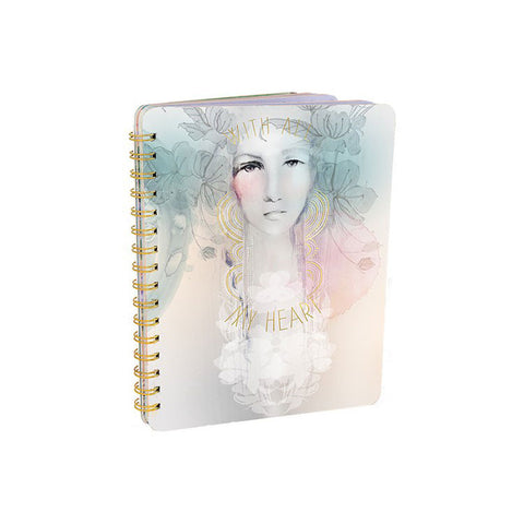 "Notebook ""With All My Heart""