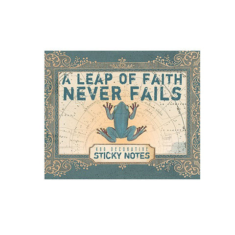 "Sticky Notes ""Leap of Faith""